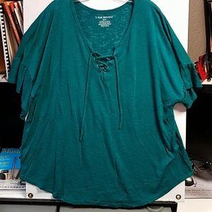 Light weight short sleeve sweater